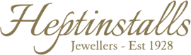 Heptinstalls Jewellers of Worthing Est 1928 Mobile Retina Logo