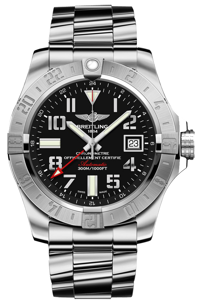 the best attitude 60ced 9c8df Breitling Avenger II GMT Mens Watch - A3239011/BC34170A