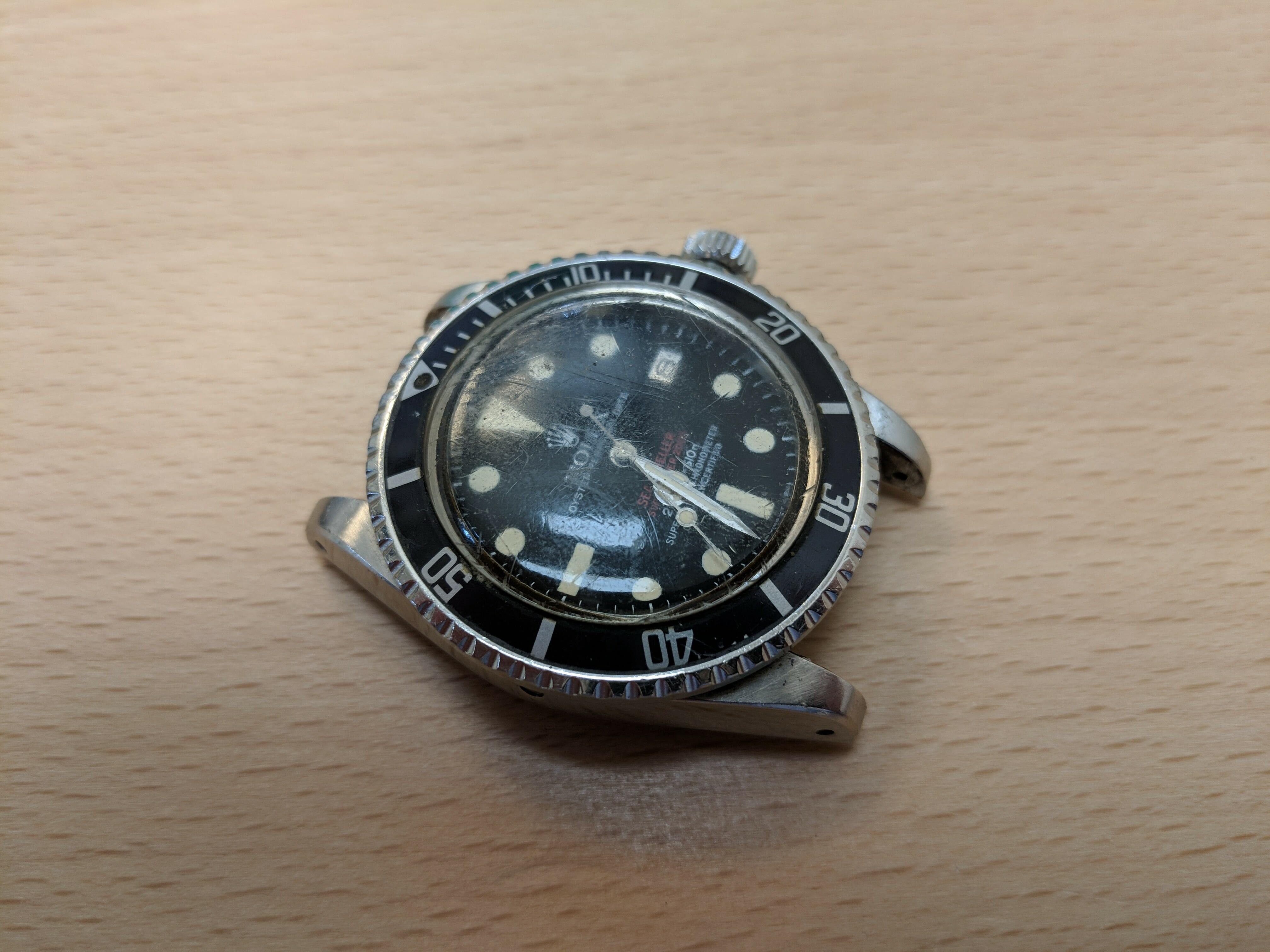 Rolex Sea-Dweller 1665 Double Red - Service and Restoration