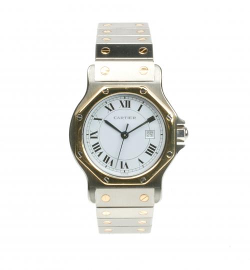 Cartier Santos Ronde 2699 Pre-owned Watch