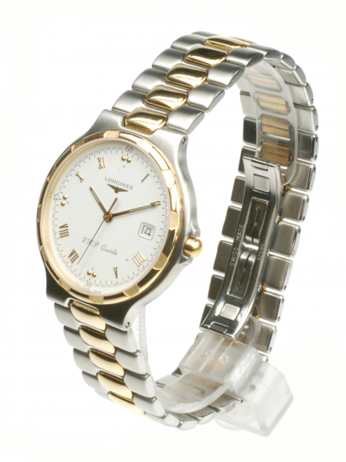 Longines Conquest Quartz From 1999 Pre-Owned Watch