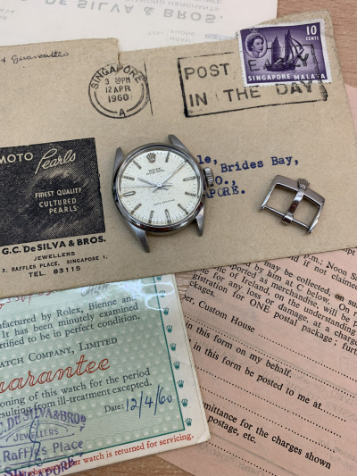 Rolex Oyster Royal Precision 6444 Fully Certificated from 1960