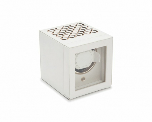 Wolf Single Cub Chloe Watch Winder With Cover - 301853
