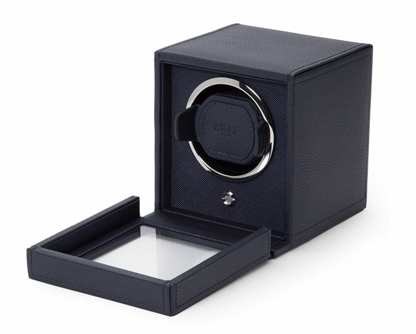 Wolf Single Cub Watch Winder With Cover - 461117
