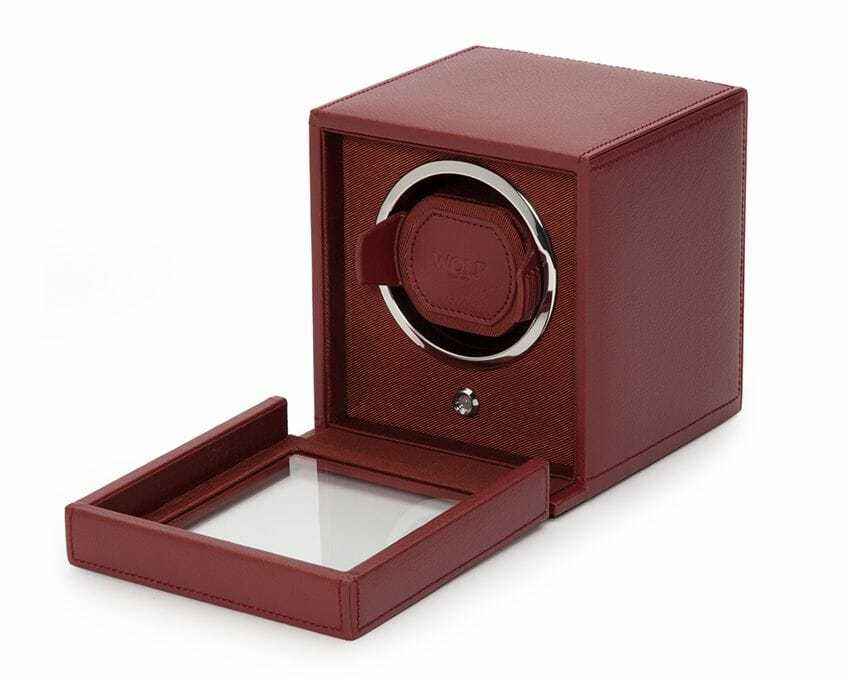 Wolf Single Cub Watch Winder With Cover - 461126