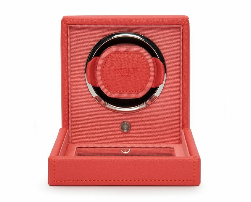 Wolf Single Cub Watch Winder With Cover - 461142