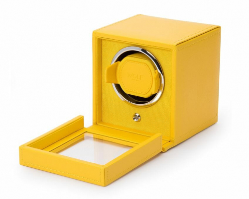Wolf Single Cub Watch Winder With Cover - 461192