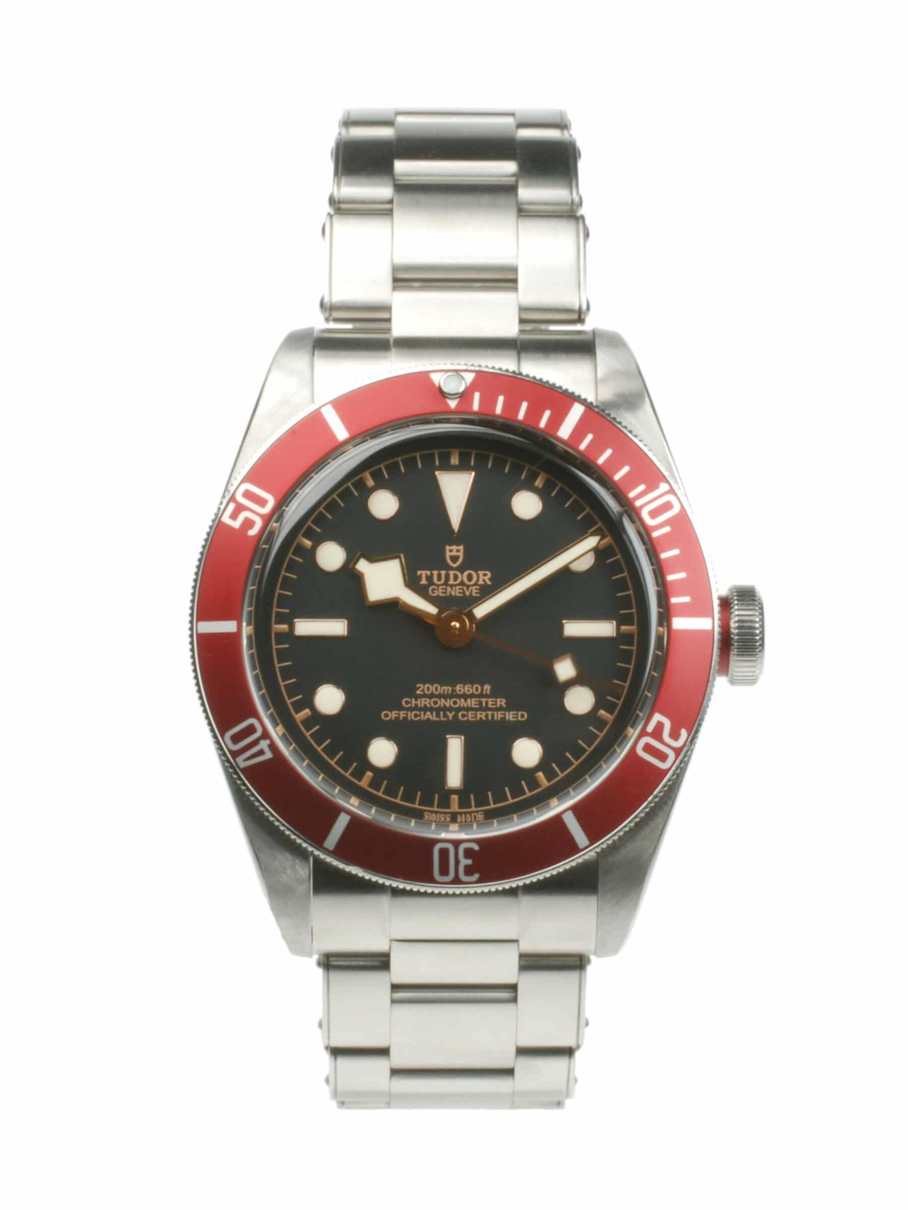 Tudor Heritage Black Bay 79230R From 2017 Pre-owned Watch With Papers