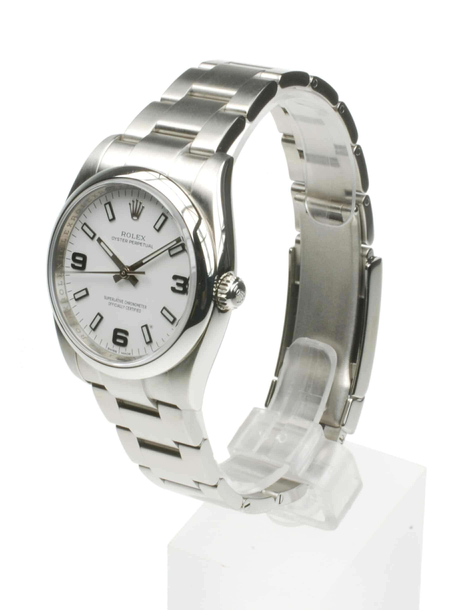 Rolex Oyster Perpetual 114200 From 2005 Pre-Owned Watch