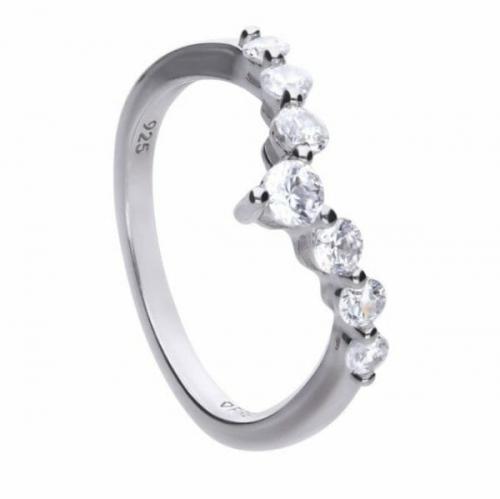 Diamonfire Pave Wishbone Ring