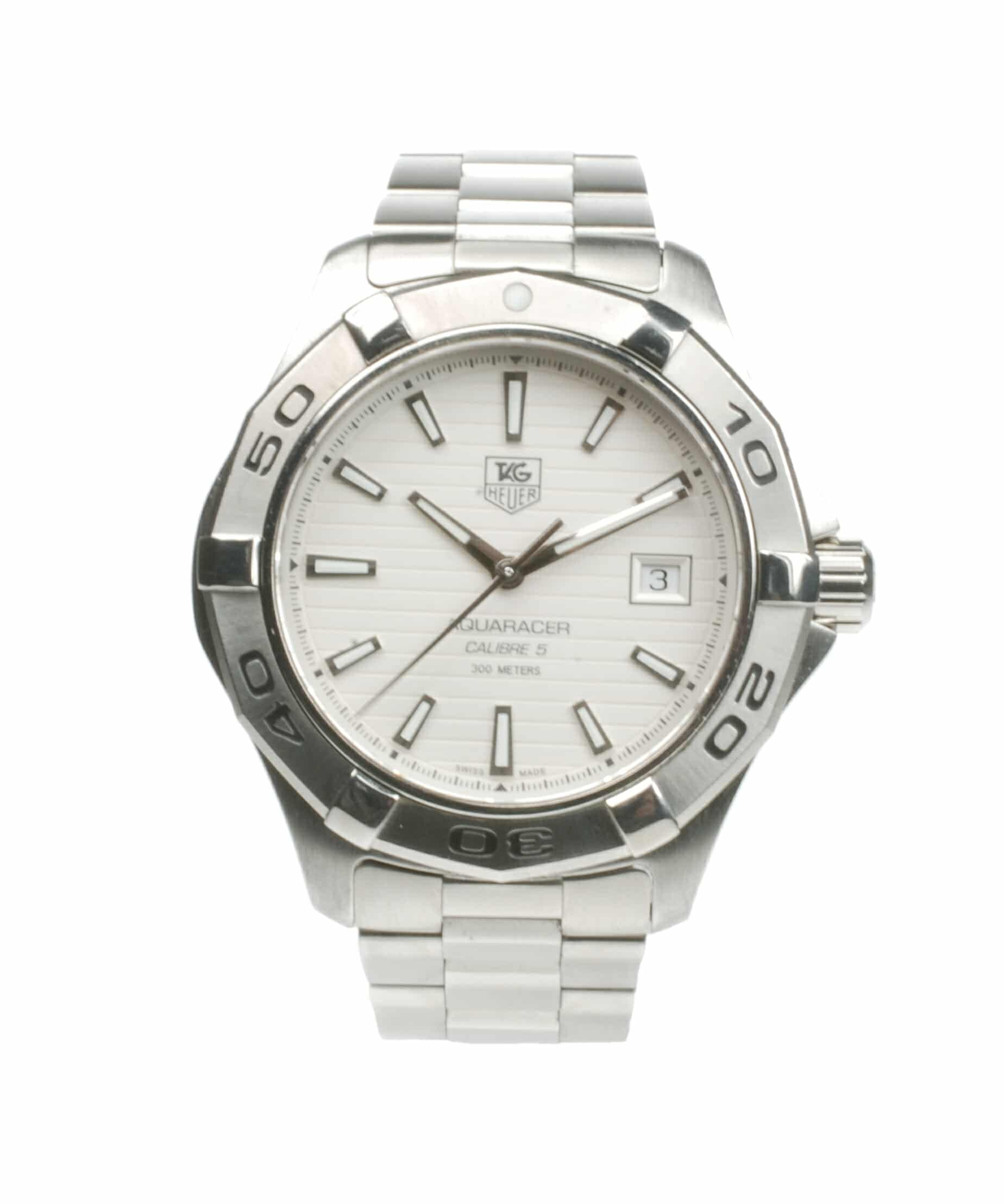 Tag Heuer Aquaracer CAP2111-0 From 2013 Pre-Owned Watch