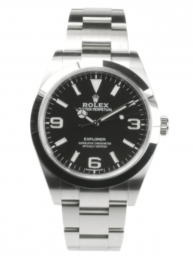Rolex Explorer 214270 From 2019 Pre-Owned Watch
