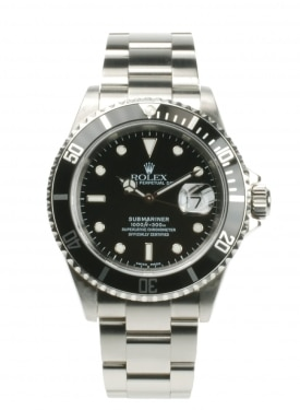 Rolex Submariner 16610 From 2003 Pre-Owned Watch