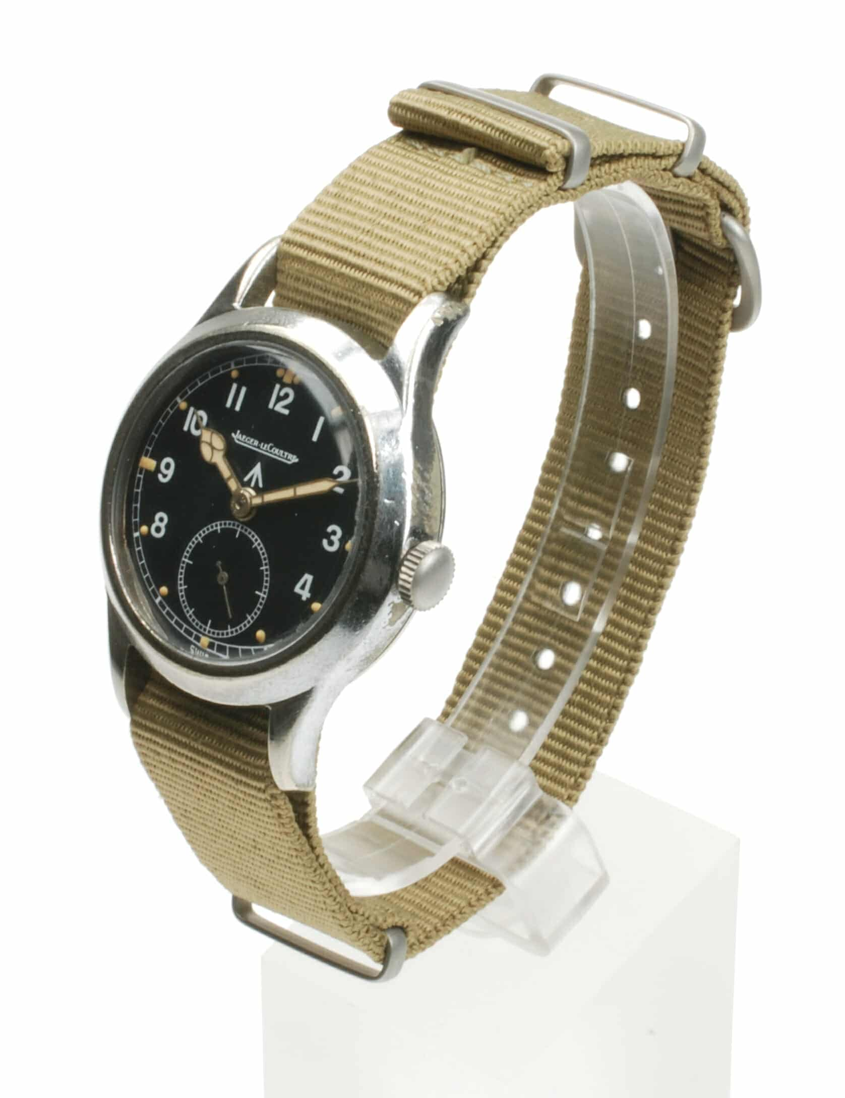 Jaeger LeCoultre British Army Issued Watch WW2 F11065 Pre-Owned Watch
