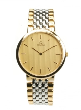 Omega DeVille 395.0875.2 From 1990 Pre-Owned Watch