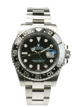 Rolex GMT-Master II 116710LN From 2014 Pre-Owned Watch