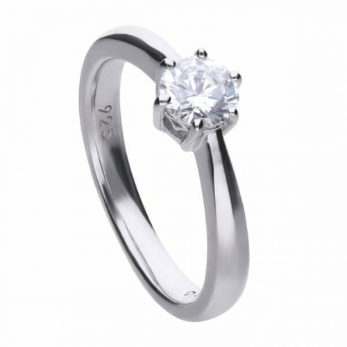 Diamonfire Claw Set 0.75ct Solitaire Ring