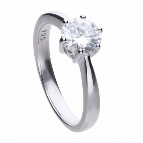 Diamonfire Claw Set 1.50ct Solitaire Ring