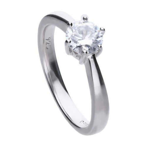 Diamonfire Claw Set 1.00ct Solitaire Ring