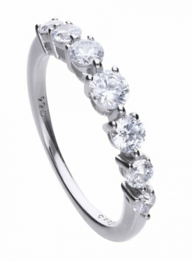 Diamonfire Half Eternity Ring