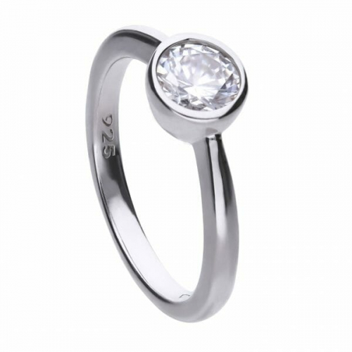 Diamonfire Bezel Set 1.00ct Solitaire Ring