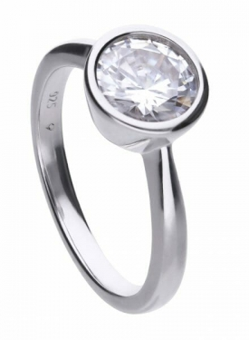 Diamonfire Bezel Set 2.00ct Solitaire Ring