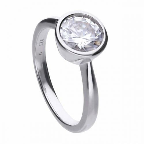 Diamonfire Bezel Set 2.00ct Solitaire Ring
