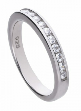 Diamonfire Channel Set Ring