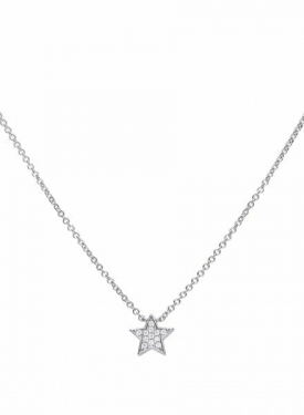 Diamondfire Star Necklace