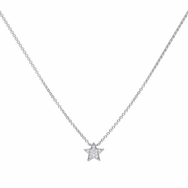 Diamondfire Star Necklace