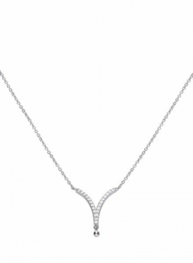Diamonfire V Shaped Necklace