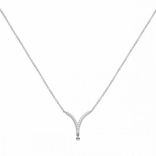Diamonfire V Shaped Necklace