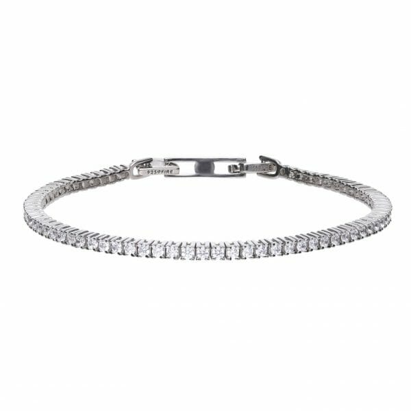 Diamonfire Fine Claw Set Tennis Bracelet