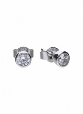 Diamonfire Bezel Set 0.50ct Stud Earrings