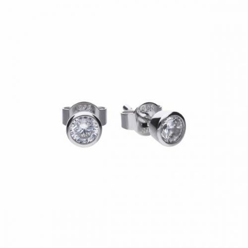 Diamonfire Bezel Set 0.50ct Stud Earrings