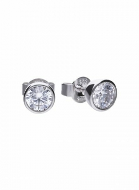 Diamonfire Bezel Set 1.00ct Stud Earrings