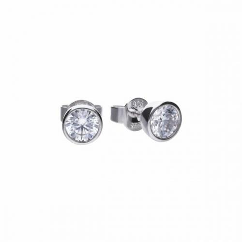 Diamonfire Bezel Set 1.00ct Stud Earrings