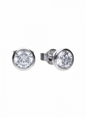 Diamonfire Bezel Set 1.50ct Stud Earrings