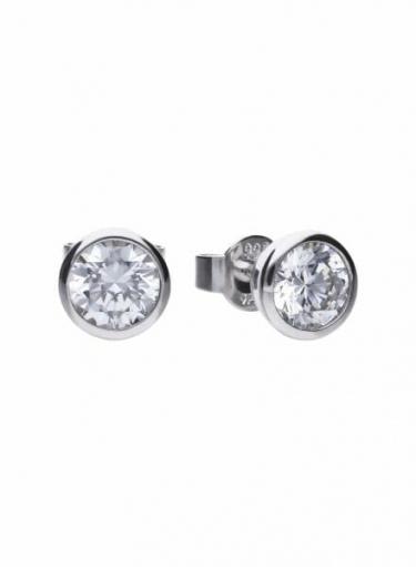 Diamonfire Bezel Set 1.50ct Stud Earrings