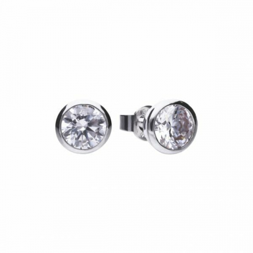 Diamonfire Bezel Set 2.00ct Stud Earrings