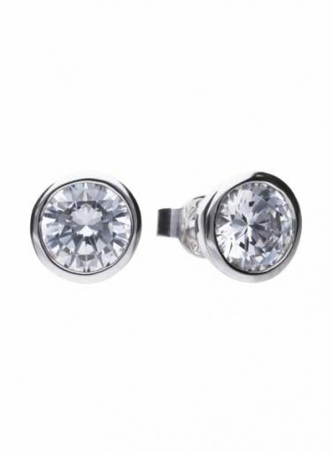 Diamonfire Bezel Set 3.00ct Stud Earrings