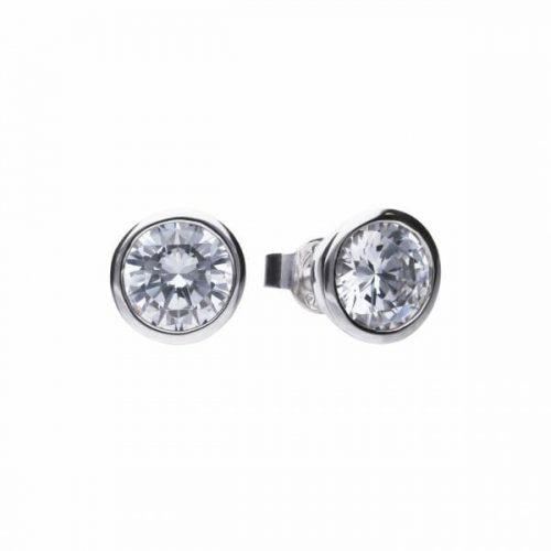 Diamonfire Bezel Set 3.00ct Stud Earrings