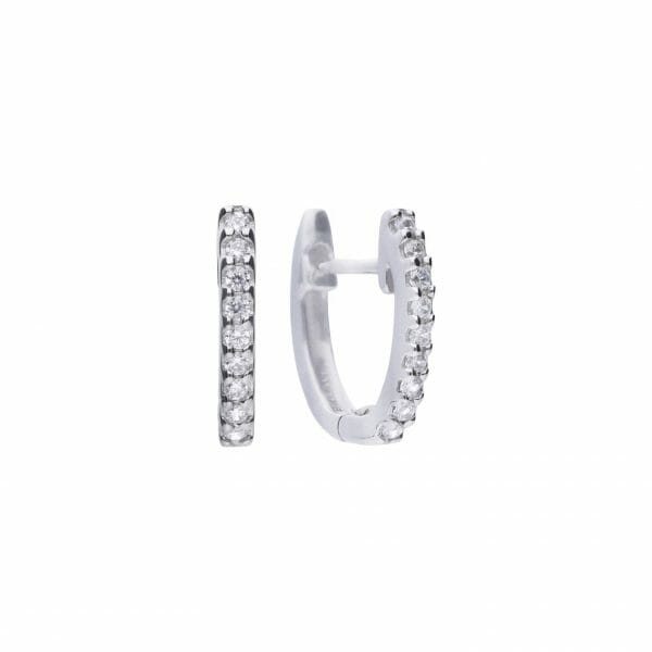 Diamonfire Classic Creole Earrings