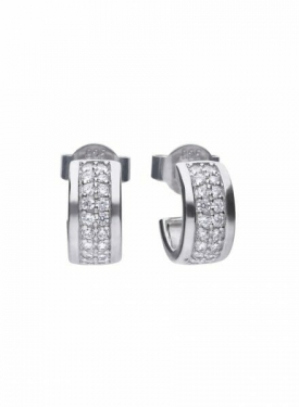 Diamonfire Classic Half Creole Earrings