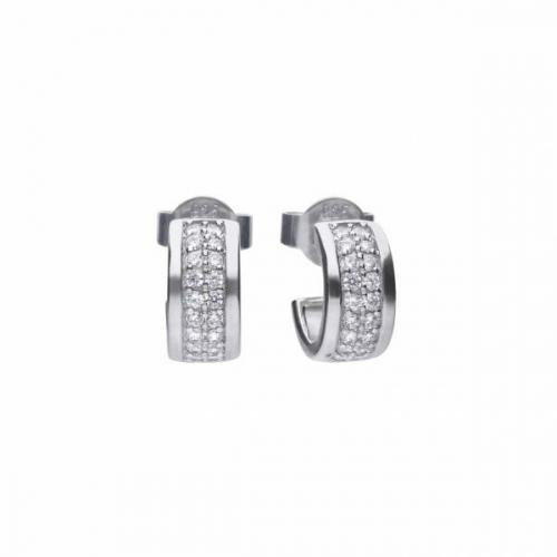 Diamonfire Classic Half Creole Earrings