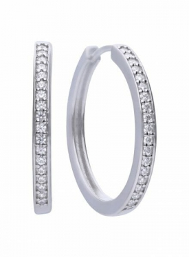 Diamonfire Classic Hoop Earrings