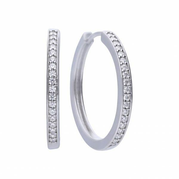 Diamonfire Classic Hoop Earrings