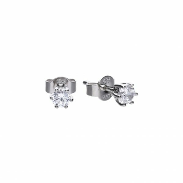 Diamonfire Claw Set 0.50ct Solitaire Stud Earrings