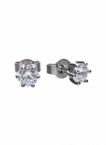 Diamonfire Claw Set 1.00ct Solitaire Stud Earrings
