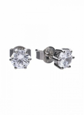 Diamonfire Claw Set 1.50ct Solitaire Stud Earrings